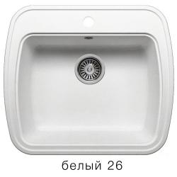 Мойка квадрат БЕЛЫЙ 570*500 мм
